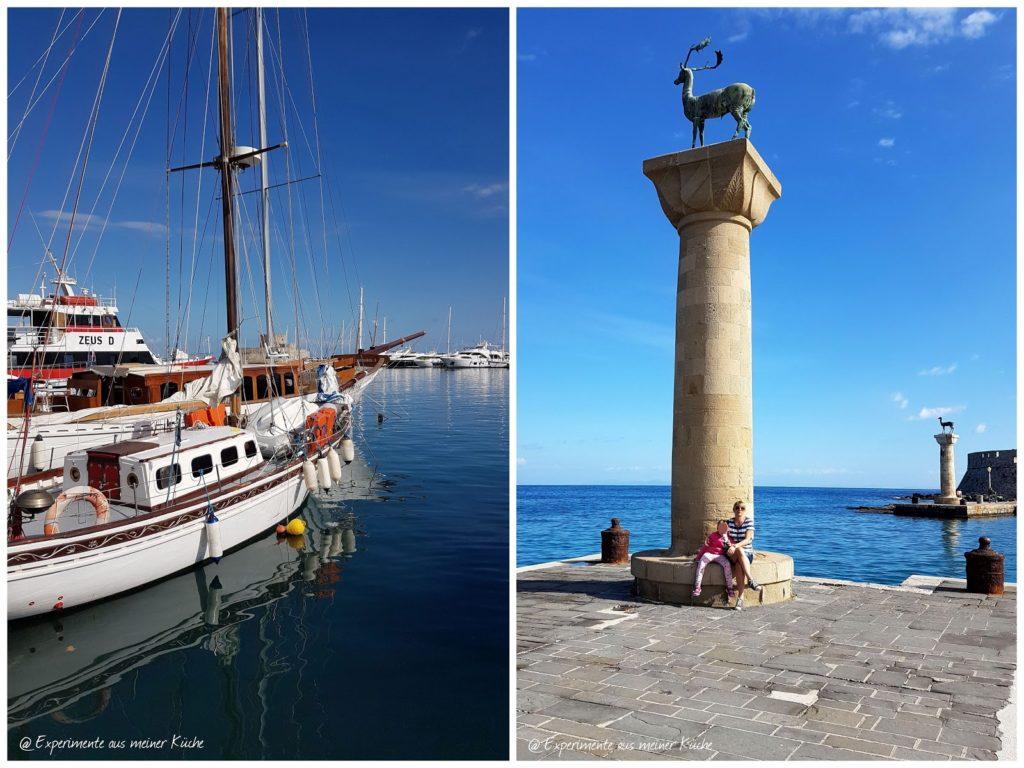 Rhodos im Herbst | Urlaub | Familienurlaub | Griechenland | Urlaub mit Kind | Unterwegs auf Rhodos | Koloss von Rhodos