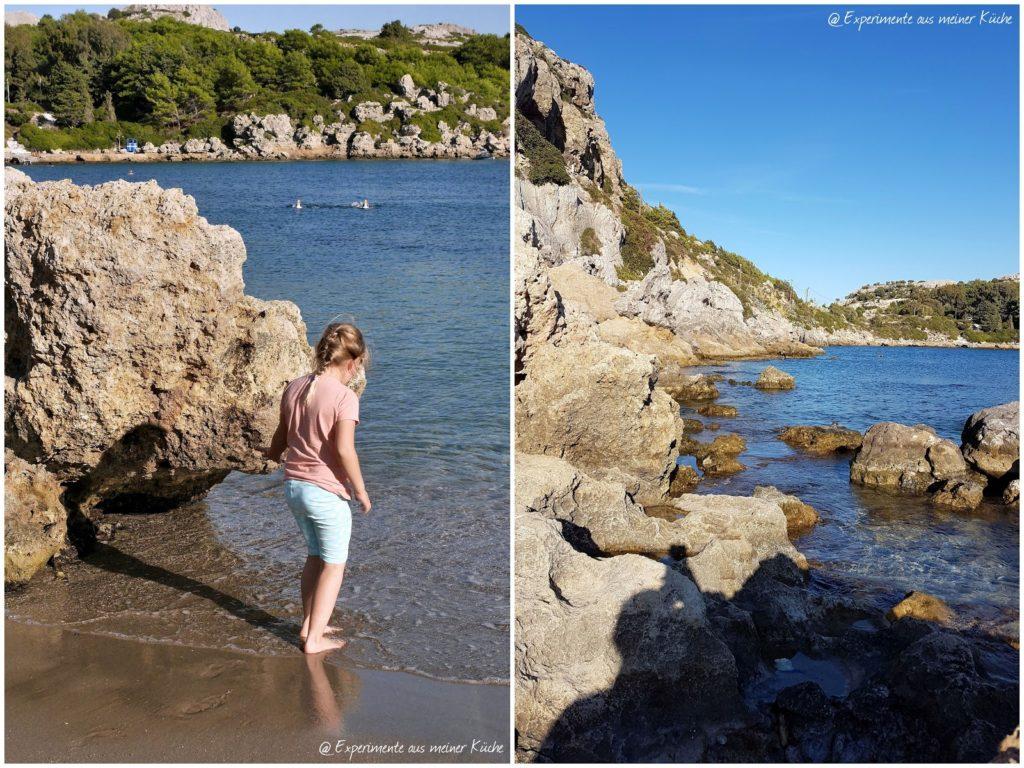Rhodos im Herbst | Urlaub | Familienurlaub | Griechenland | Urlaub mit Kind | Unterwegs auf Rhodos | Anthony Quinn Bucht