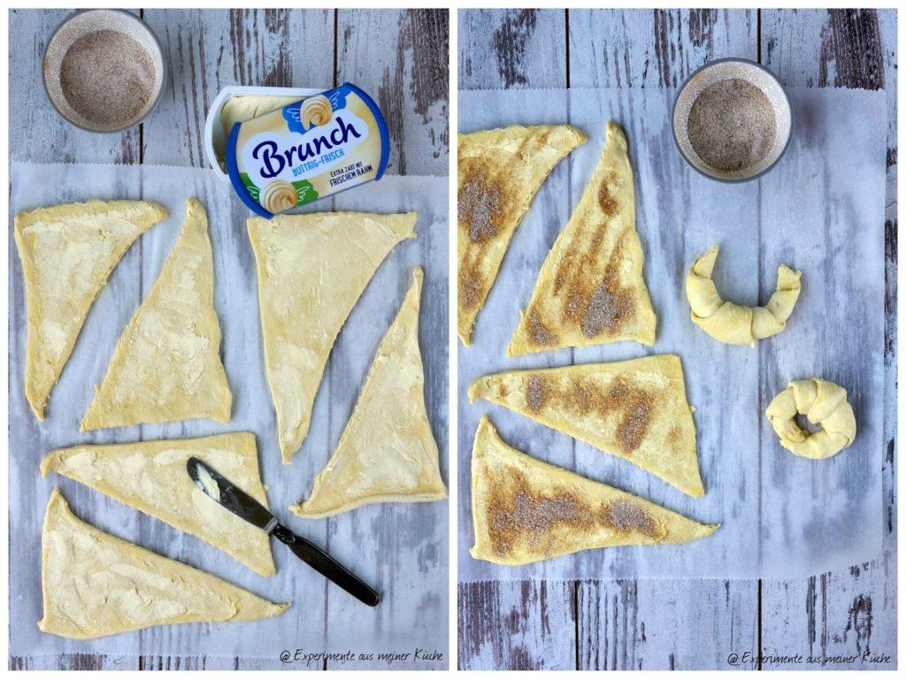 Bagel mal anders | Rezept | Essen | Cragle | Kürbis-Bagel | Blätterteig-Bagel | Backen