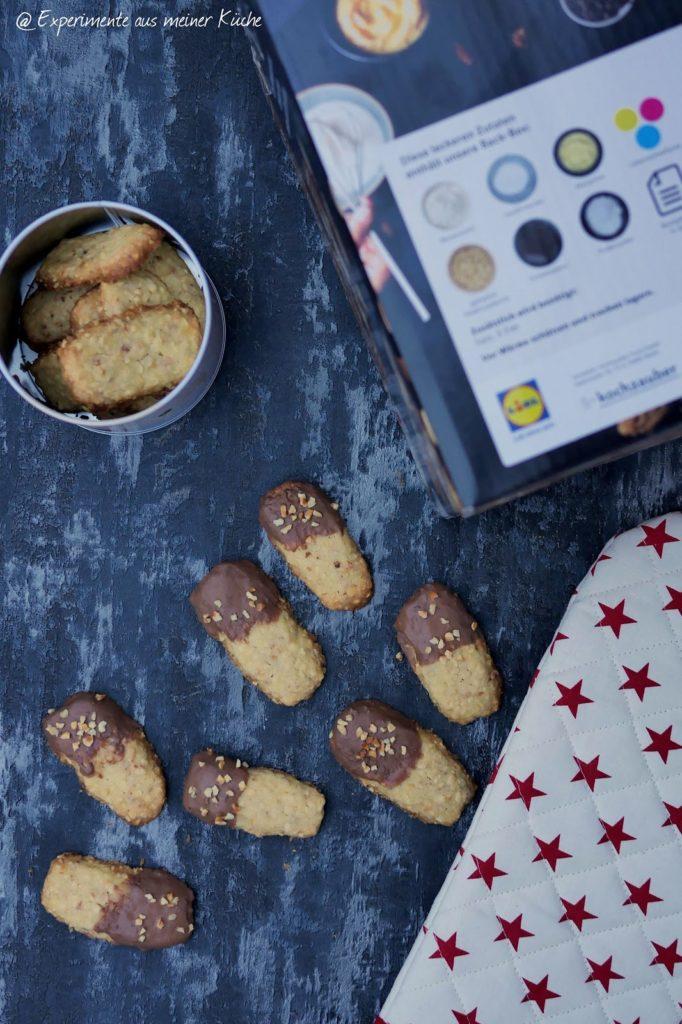 Krokant Sticks | Backen | Weihnachtsbäckerei | Rezept