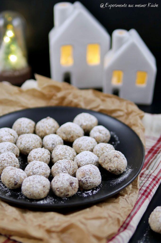 Mandel-Amarettini | Weihnachtsbäckerei | Plätzchen | Backen | Kekse | Weihnachten