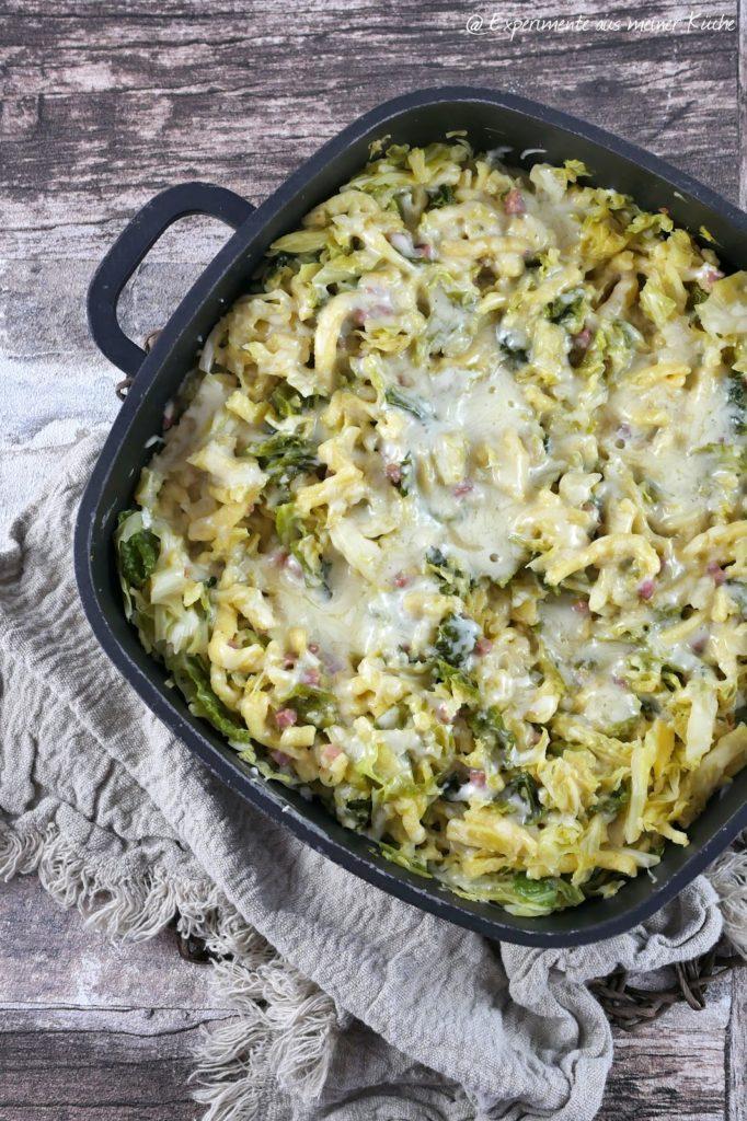 Wirsing-Käse-Spätzle | Rezept | Kochen | Essen | Weight Watchers