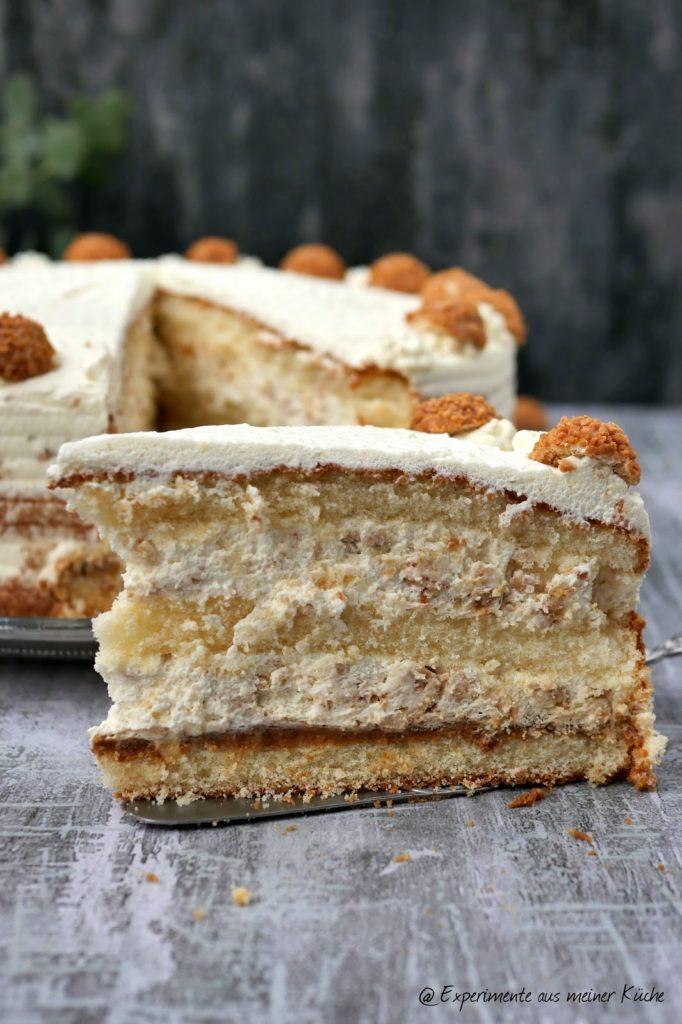 Giotto-Spekualtius-Torte ohne Backen | Rezept | Kuchen | Essen | Weihnachten | Weihnachtsbäckerei
