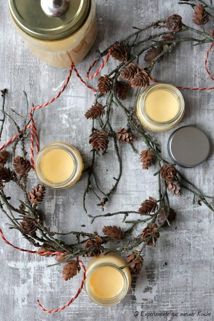 Orangen-Eierlikör mit Licor 43 | Rezept | Alkohol | Getränke | Weihnachten | Ostern | Geschenke aus der Küche