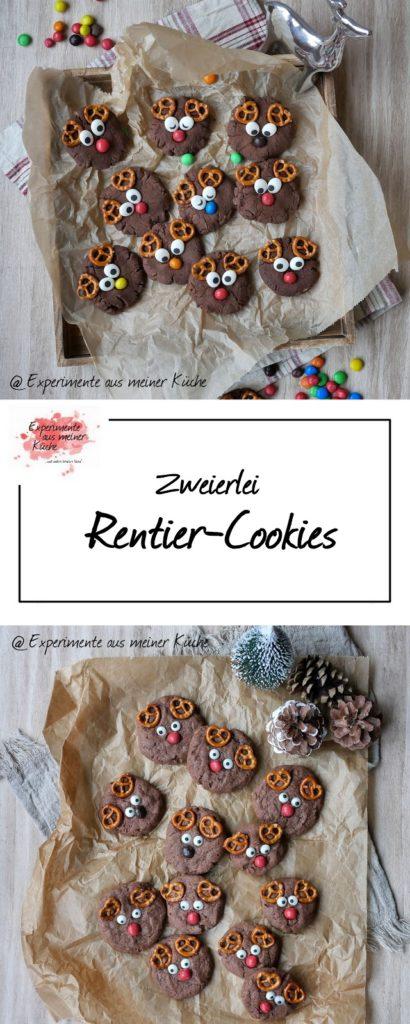 Rentier-Cookies | Rezept | Weihnachten | Backen | Kekse | Plätzchen