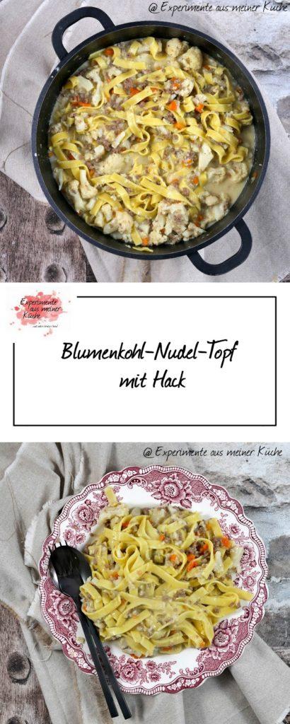 Blumenkohl-Nudel-Topf mit Hack | Rezept | Kochen | Essen | Weight Watchers