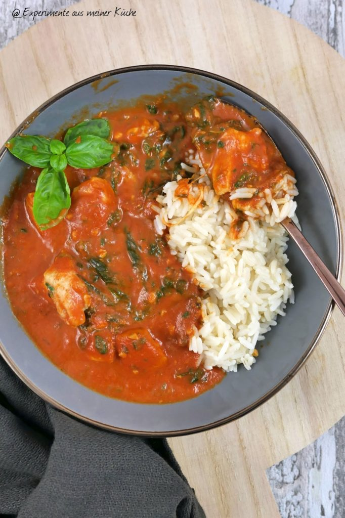 Hähnchen Toskana mit Spinat | Kochen | Essen | Rezept | Weight Watchers