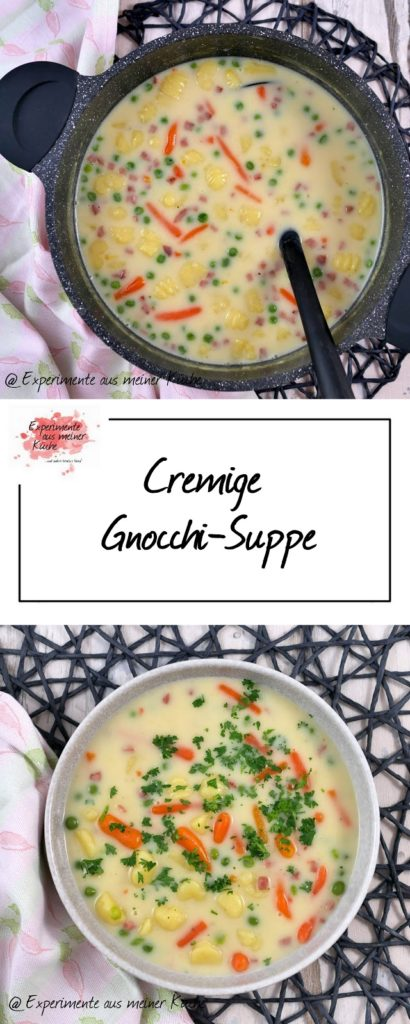 Cremige Gnocchi-Suppe | Rezept | Kochen | Essen | Weight Watchers