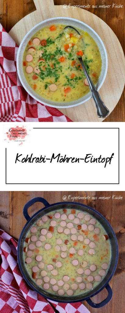 Kohlrabi-Möhren-Eintopf | Rezept | Kochen | Essen | Suppe | Weight Watchers
