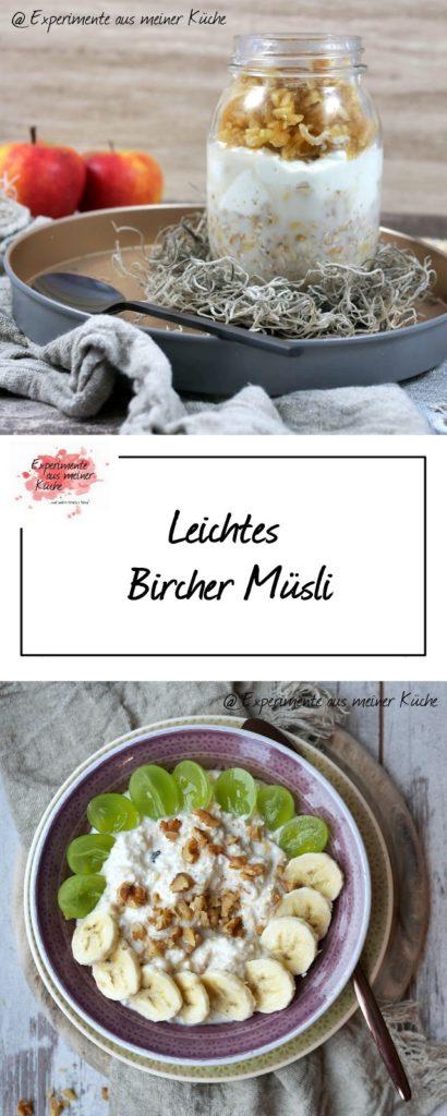 Leichtes Bircher Müsli   ONO   Frühstück   Haferflocken   Essen   Rezept   Weight Watchers
