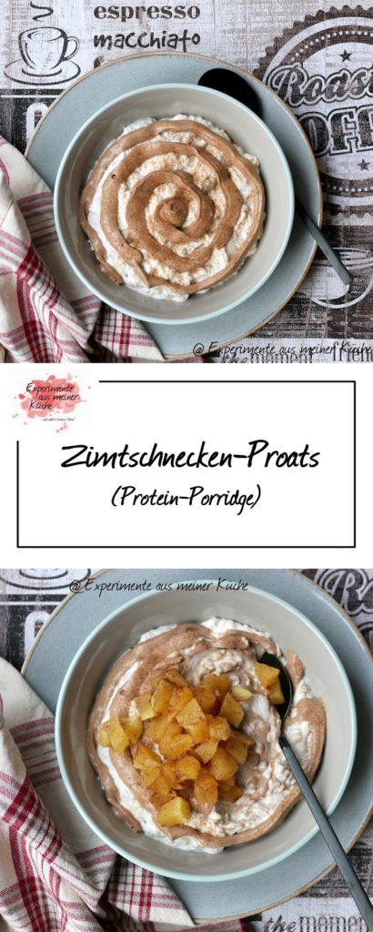 Zimtschnecken-Proats | Rezept | Essen | Frühstück | Haferflocken | Porridge | Weight Watchers