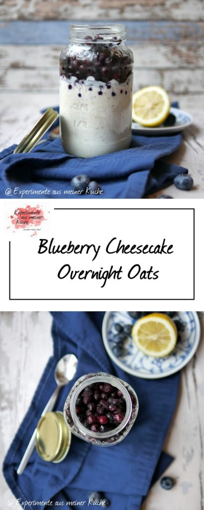 Blueberry Cheesecake Overnight Oats | Rezept | Essen | Frühstück | ONO | Haferflocken | Weigh Watchers