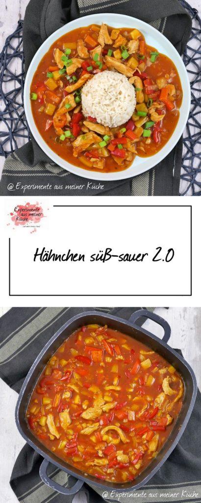 Hähnchen süß-sauer 2.0 | Rezept | Kochen | Essen | Asiatisch | Weight Watchers