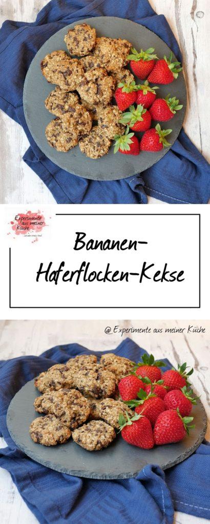 Bananen-Haferflocken-Kekse   Rezept   Backen   Gebäck   Weight Watchers