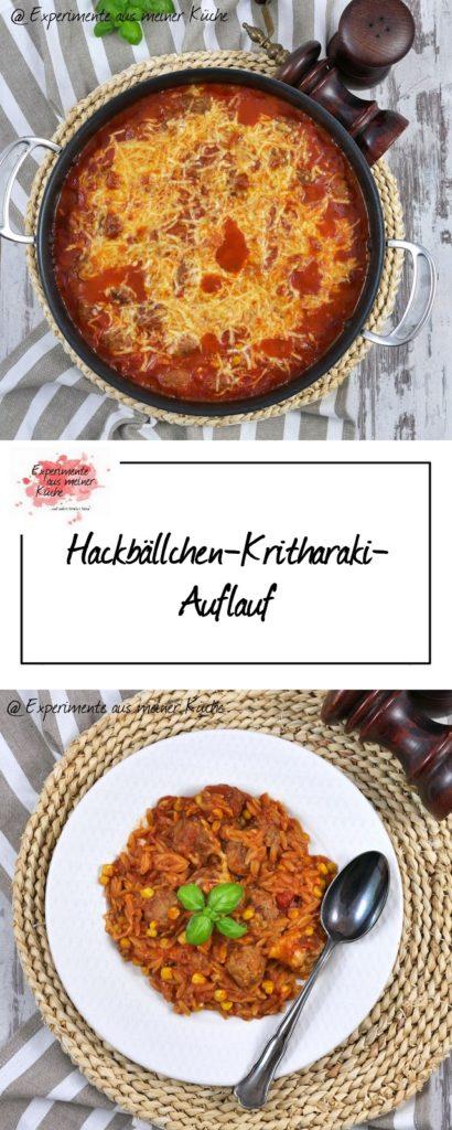 Hackbällchen-Kritharaki-Auflauf | Rezept | Kochen | Essen | Überbacken | Weight Watchers
