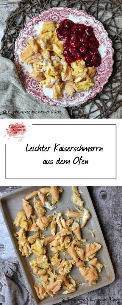 Leichter Kaiserschmarrn aus dem Ofen | Rezept | Essen | Hauptspeise | Dessert | Eierspeise | Weight Watchers