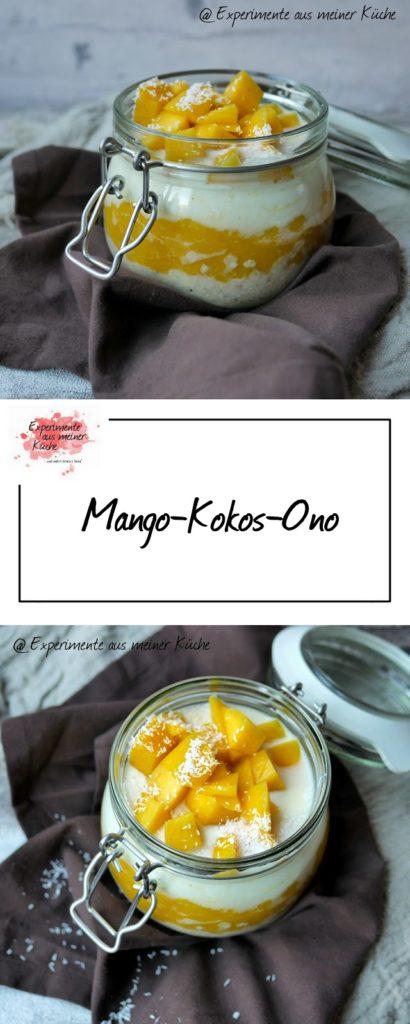 Mango-Kokos-Ono | Rezept | Frühstück | Essen | Haferflocken | Weight Watchers