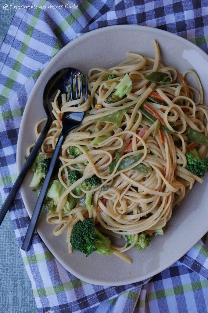 Nudel Pad Thai | Rezept | Essen | Kochen | Weight Watchers | Vegetarisch