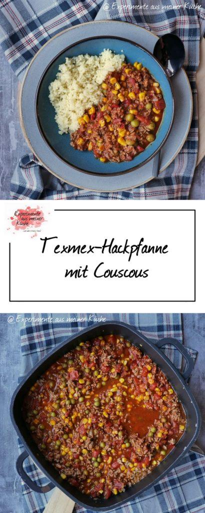 Texmex-Hackpfanne mit Couscous | Rezept | Kochen | Essen | Weight Watchers