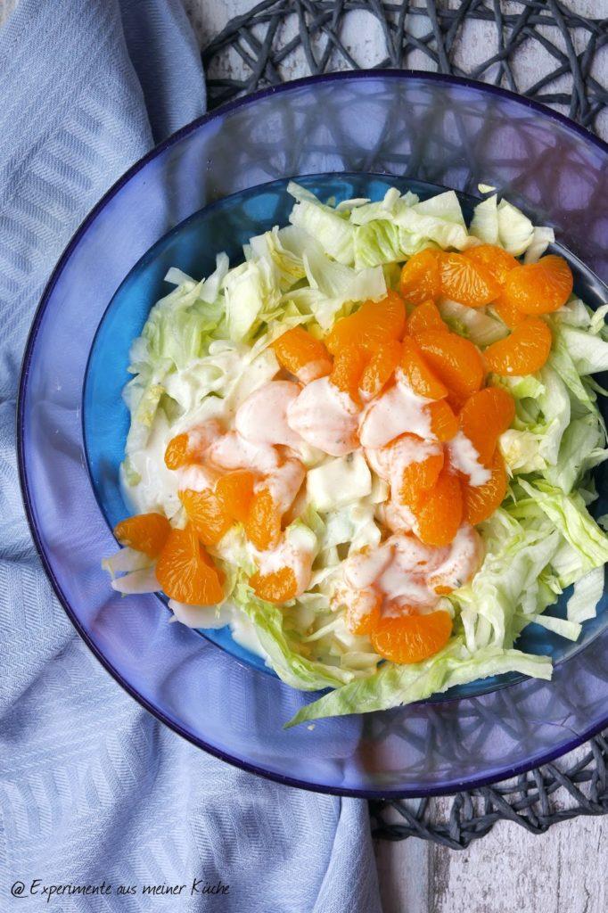 Eisberg-Mandarinensalat | Rezept | Essen | Grillen | Weight Watchers