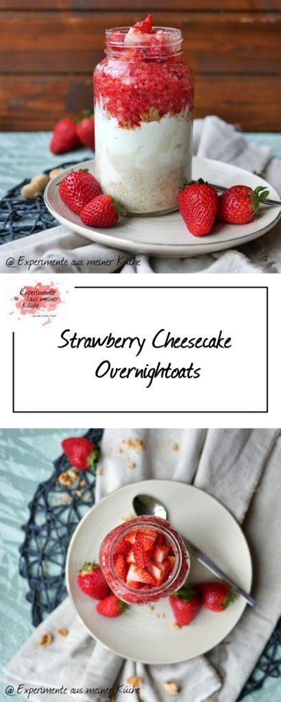 Strawberry Cheesecake Ono | Frühstück | Haferflocken | Weight Watchers | Rezept | Essen | Erdbeeren