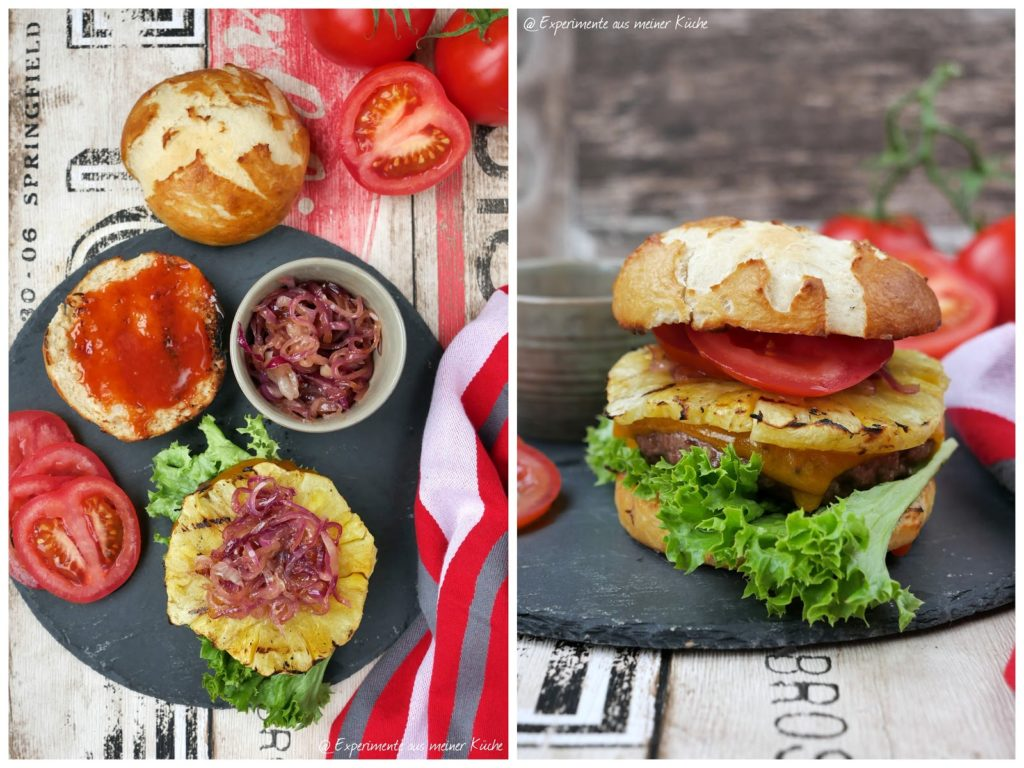 Big Kahuna Burger | Rezept | Essen | Fast Food | Laugen-Buns