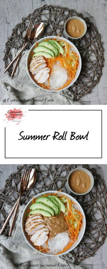 Sommer Roll Bowl | Rezept | Essen | Kochen | Asiatisch | Sommer