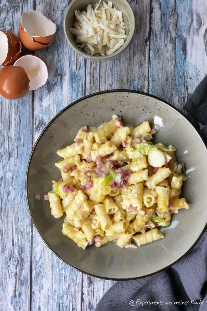 Nudelauflauf à la Carbonara | Rezept | Kochen | Pasta | Essen | Weight Watchers