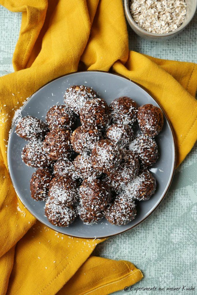 Schoko-Erdnuss-Kugeln | Rezept | Naschen | No Bake | Dessert | Nachtisch