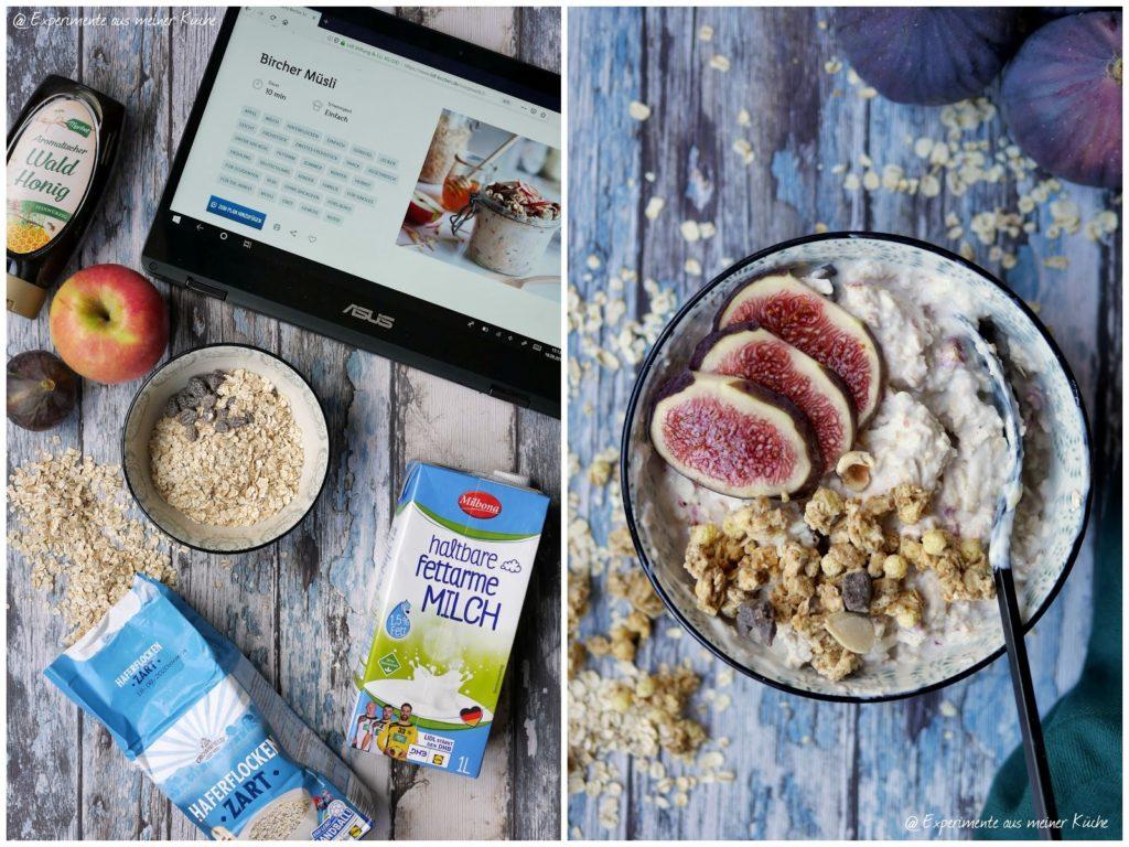 Bircher Müsli mit Feige | Rezept  | Essen | Frühstück