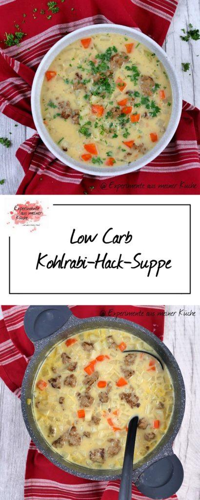 Low Carb Kohlrabi-Hack-Suppe | Kochen | Essen | Rezept | Weight Watchers