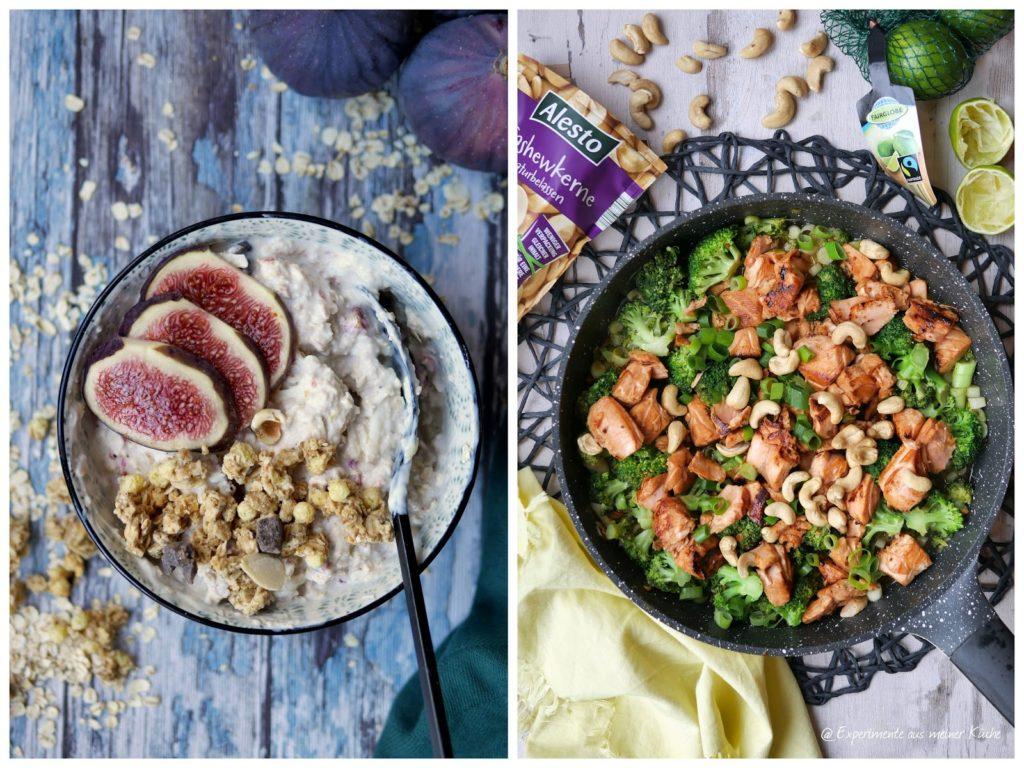 Marinerter Lachs mit Brokkoli und Reis | Kochen | Rezept  | Essen | Bircher Müsli | Frühstück