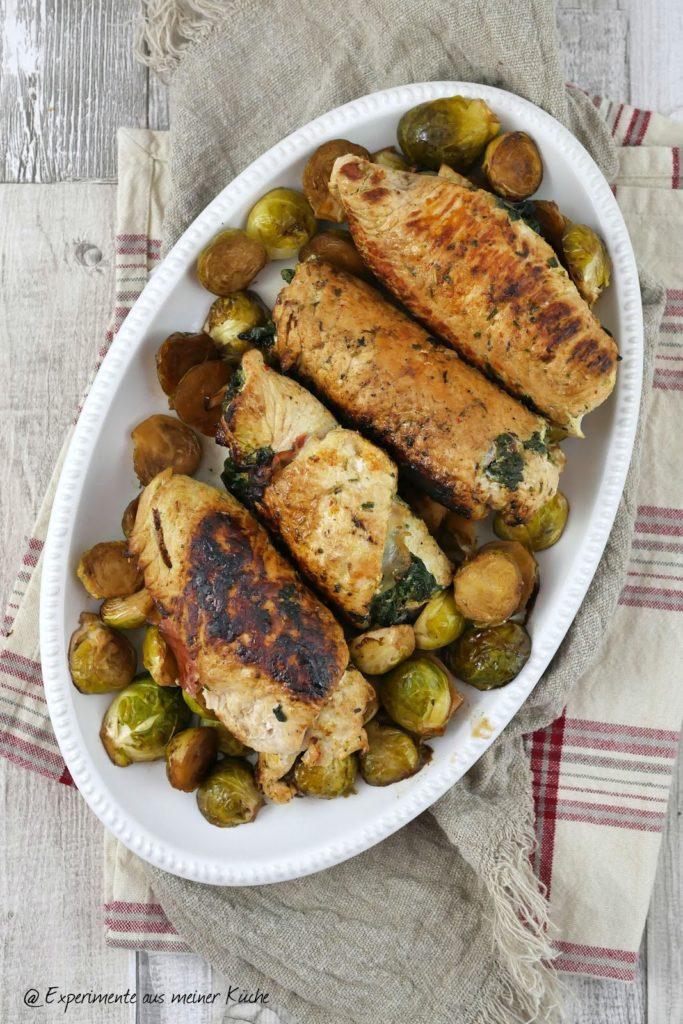 Putenröllchen mit Spinat   Rezept   Kochen   Essen   Weight Watchers