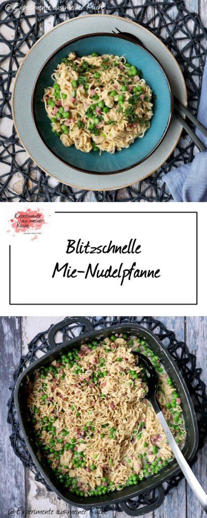 Blitzschnelle Mie-Nudelpfanne | Rezept | Kochen | Essen | Feierabendküche | Weight Watchers