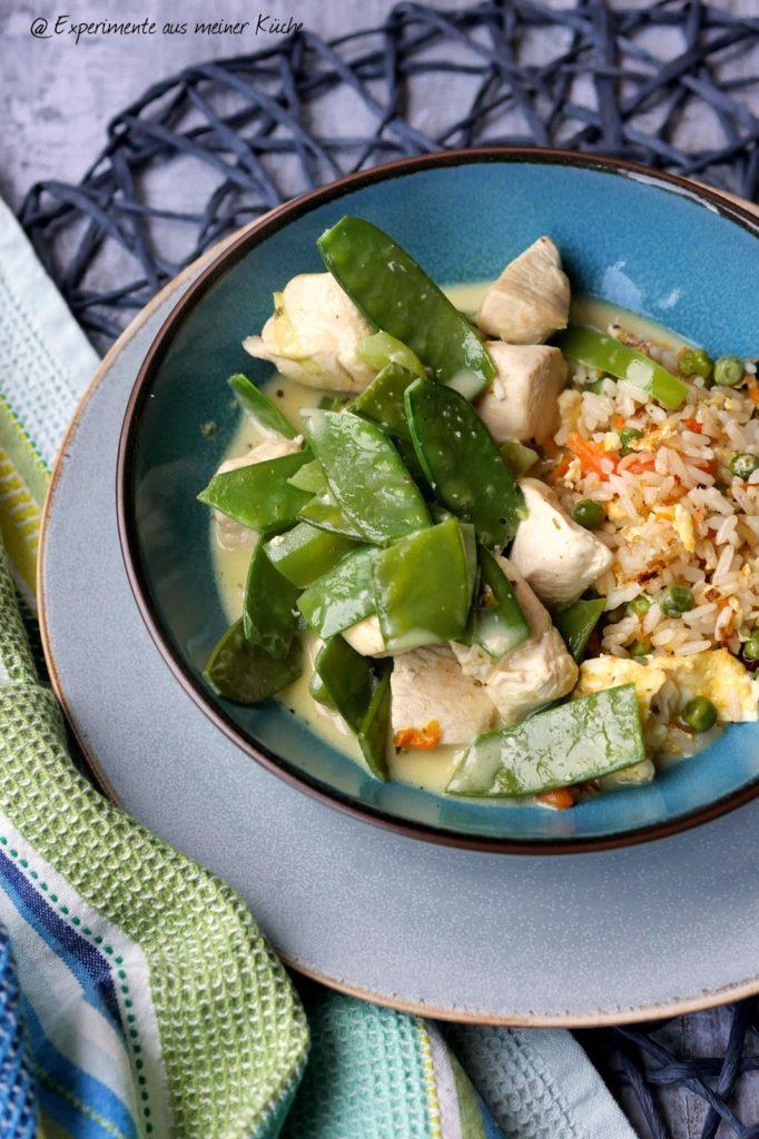 Einfaches Hähnchen-Kokos-Curry | Rezept | Kochen | Essen