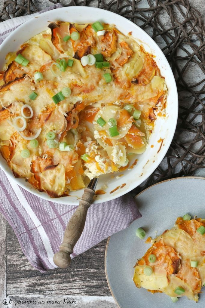 Buntes Kartoffelgratin | Rezept | Kochen | Essen | Weight Watchers