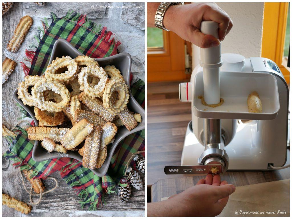 Haselnuss-Spritzgebäck | Rezept | Backen | Kekse | Weihnachten | Weihnachtsbäckerei