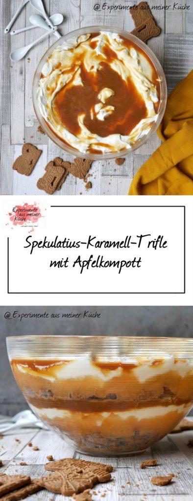 Spekulatius-Karamell-Trifle | Rezept | Dessert | Weihnachten