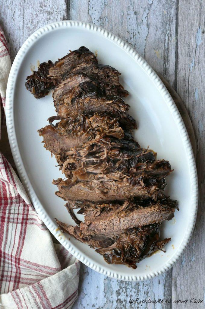 Weihnachtlicher Rinderbraten mit Preiselbeer-Rotkohl | Essen | Kochen | Rezept | Weihnachten | Hausmannskost