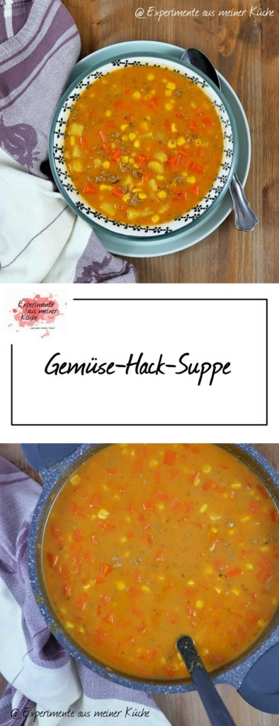 Gemüse-Hack-Suppe | Rezept | Essen | Kochen | Weight Watchers