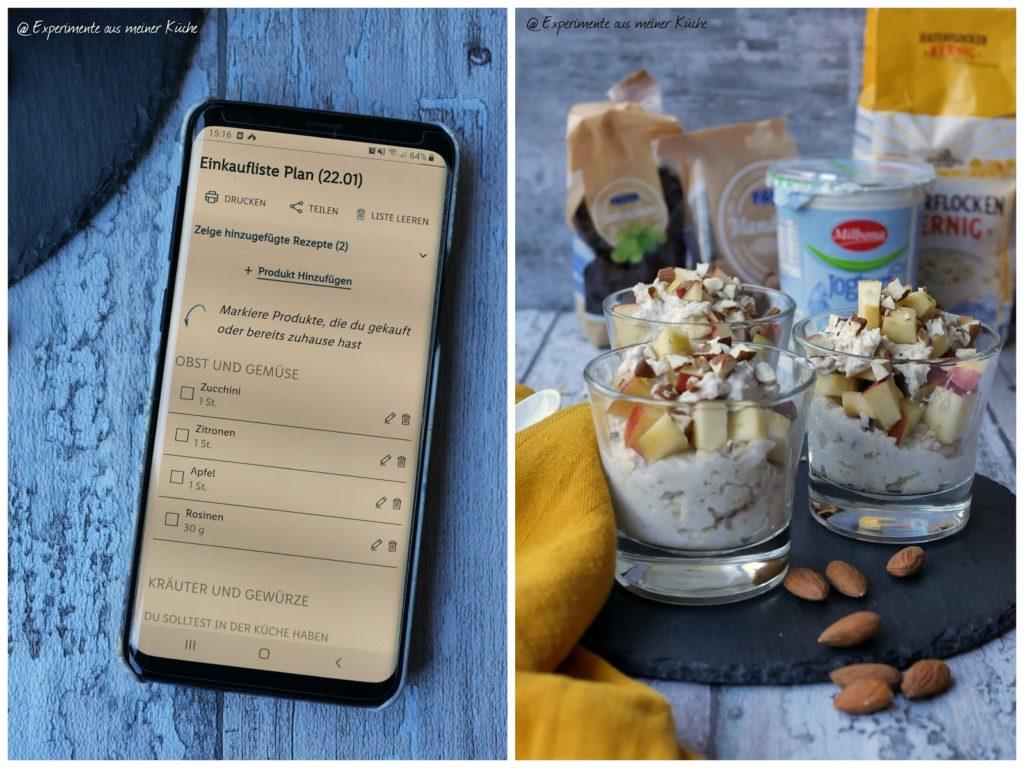 Müsli mit Apfel | Rezept | Essen | Frühstück | Weight Watchers