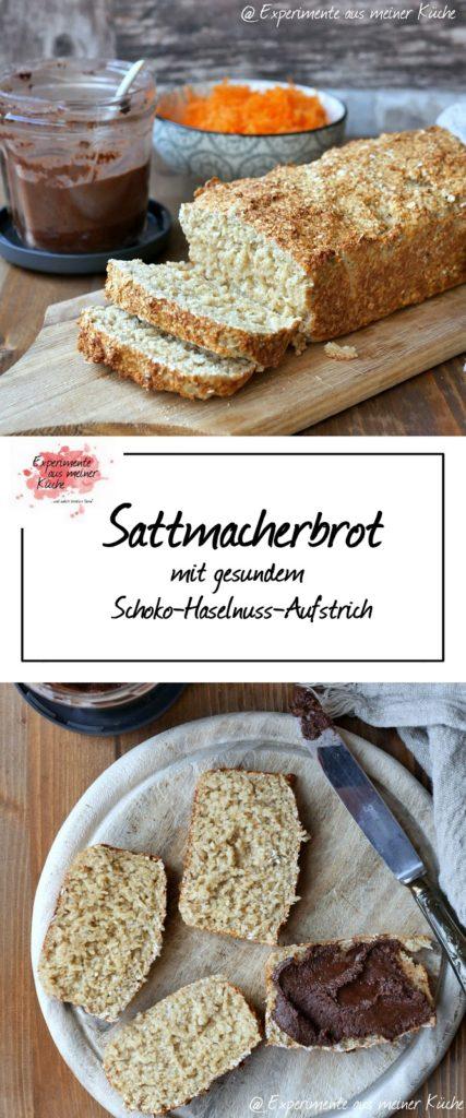 Sattmacherbrot | Rezept | Essen | Backen | Schoko-Haselnuss-Aufstrich | Weight Watchers