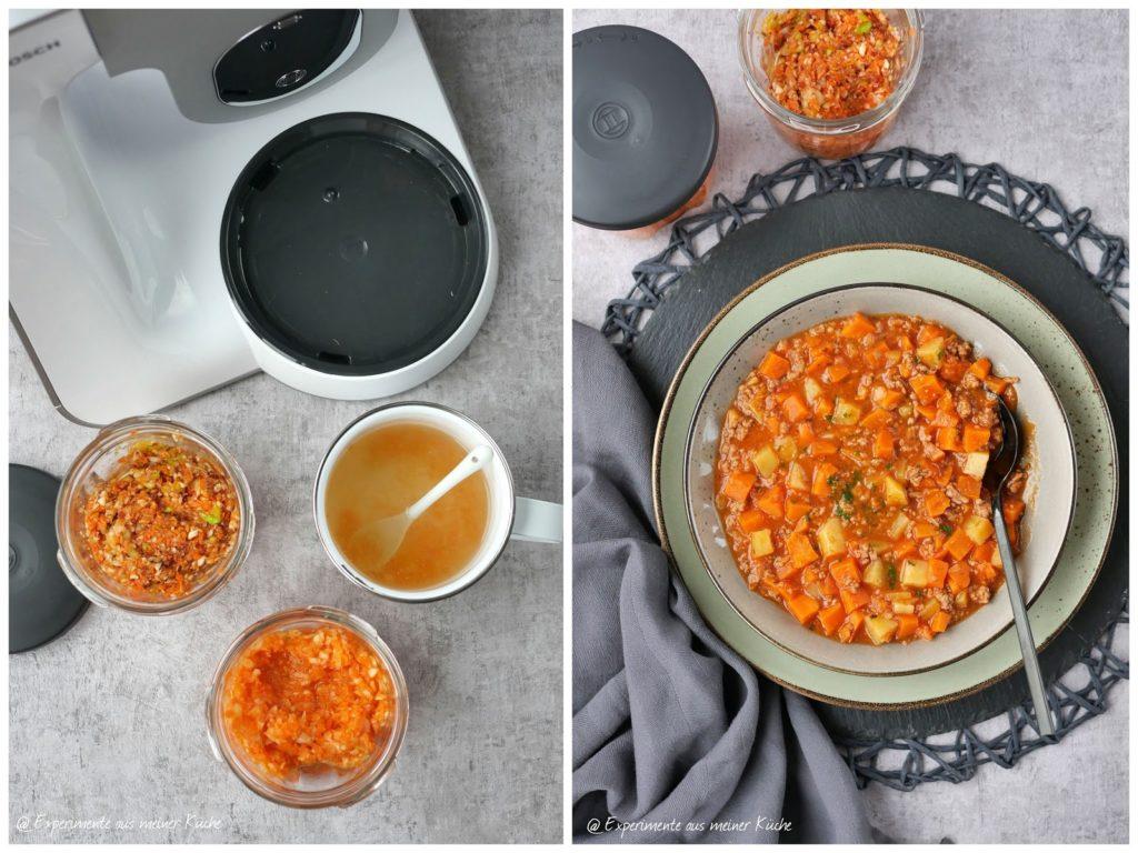 Selbstgemachte Gemüsebrühe | Süßkartoffel-Bauerntopf | Kochen | Rezept | Essen | Weight Watchers