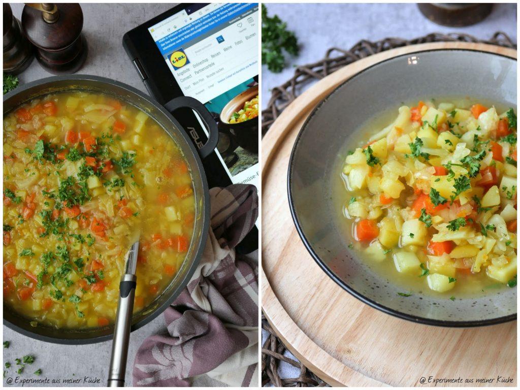 Gemüse-Eintopf mit Kartoffeln und Weißkohl | Rezept | Essen | Kochen | Suppe | Weight Watchers