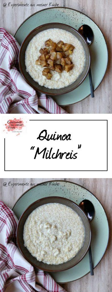 "Quinoa ""Milchreis"" | Rezept | Frühstück | Kochen | Essen | vegan | Weight Watchers"