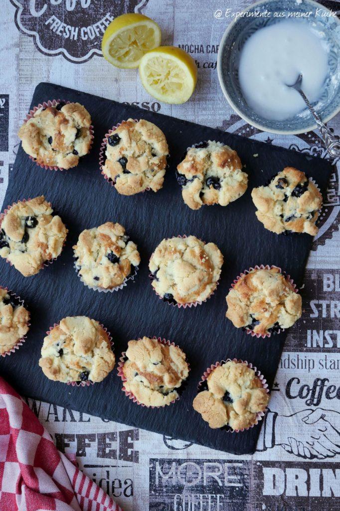 Blaubeer-Streusel-Muffins | Backen | Kuchen | Rezept