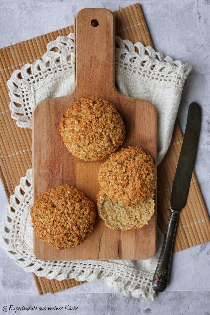 Haferflockenbrötchen | Rezept | Frühstück | Essen | Weight Watchers