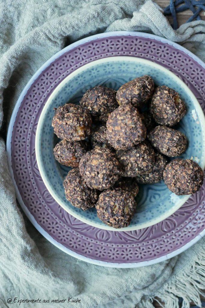 Experimente aus meiner Küche | Müslikugeln | Rezept | Snack | Weight Watchers | Haferflocken