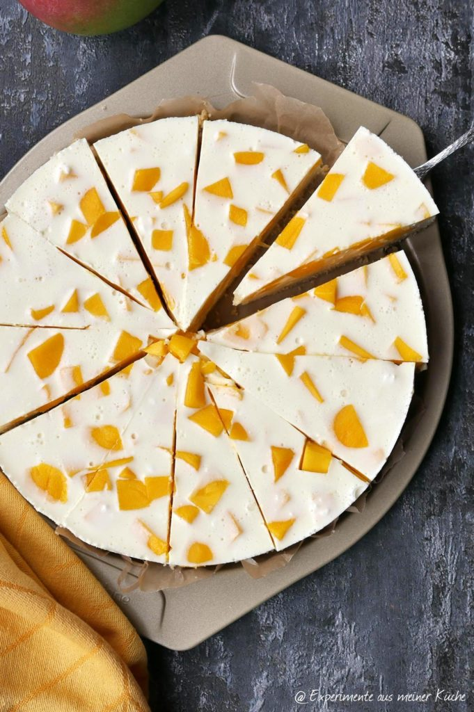 Mango-Zitronen-Cheesecake | Rezept | Backen | Kuchen | Weight Watchers