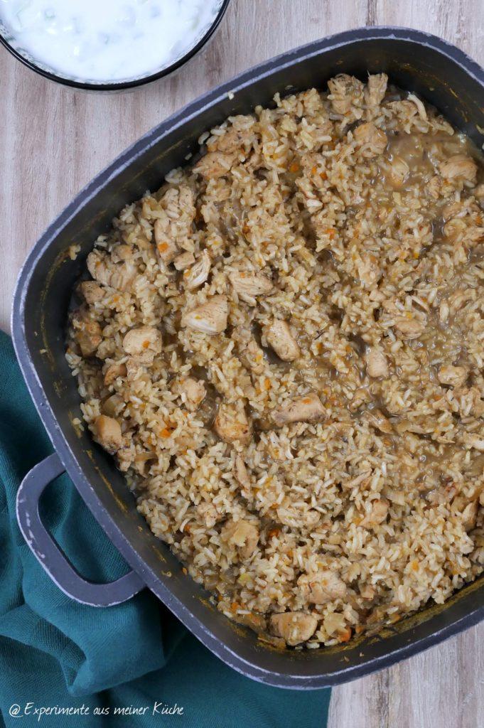 Zum Schluss gut durchmischen und mit Salz und Pfeffer abschmecken.